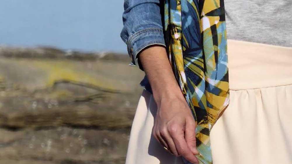 accessoires femme lyon laine créateurs boutique alchimies écharpes créations facettes