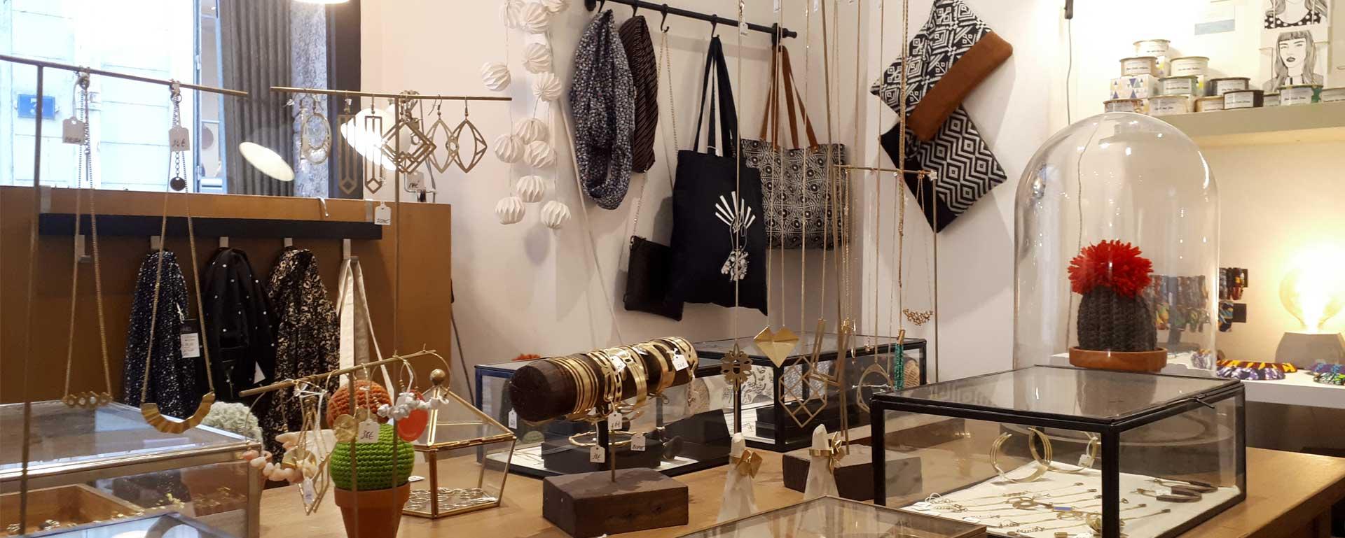 artisanat lyon bijoux créateurs fantaisie boutique alchimies maroquinerie foulard illustrations