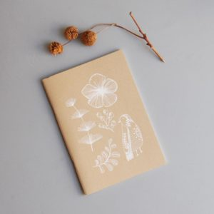 alchimies-lyon-click-and-collect-cadeaux-noel-artisanat-createurs-boutique-carnet-croquis-cahier-oiseau-kraft