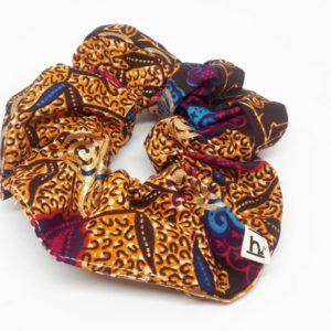 alchimies-lyon-click-and-collect-cadeaux-noel-artisanat-createurs-boutique-chouchou-bandeau-batik-orange