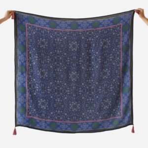 alchimies-etole-mehndi-bleu-laine-femme-carre-lyon
